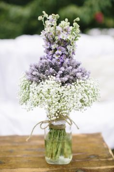 lavender Wedding Inspiration - Style Me Pretty