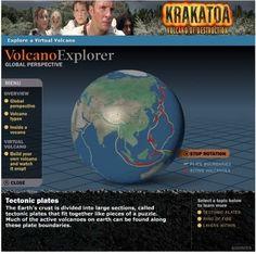 Simula una erupción volcánica con Volcano Explorer
