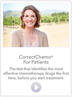 CorrectChemo | The Test that tailors your cancer treatment