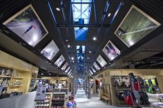 Sportmaster flagship store by Riis Retail, Kolding   Denmark sports