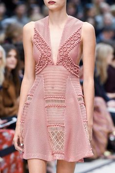 """"""" Details from Burberry Spring 2016. London Fashion Week. """""""