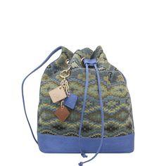 LOLA Pull Bag- Ocean Blue