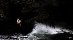 Rincón 1970-1975. Escondites en las cuevas al subir la marea