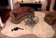 You can find the stylish selection of luxurious home decor Alpaca rugs for your living room.:- http://goo.gl/Qt7tVc #Fur_Throw #Fur_Pillows