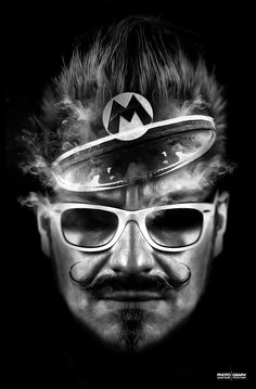 FANTASMAGORIK® MARIO by obery nicolas, via Behance