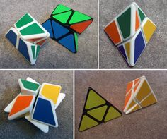 3D printed puzzles by Steven Marshall