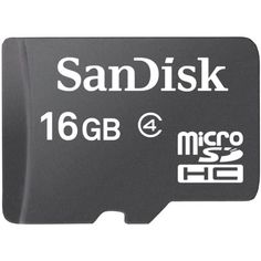 SanDisk 16 GB Class 4 microSDHC Flash Memory Card >>> Click image to review more details.