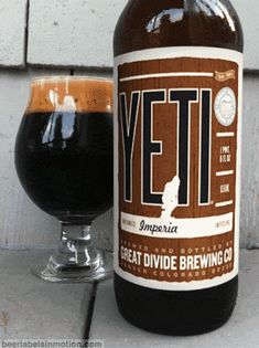 Yeti Imperial Stout motion lable. Love this.