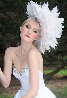 Irina Shabayeva headpieces