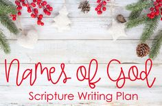 Happy almost December friends! The new topical plan for this month is one that I so enjoyed researching and am so excited to share w...