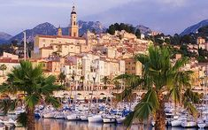 Menton, France | One of my most favvvvorite places in France.