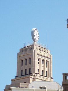 Reloj Seiko frente a Plaza Catalunya