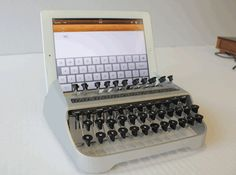 The iTypewriter was invented by mechanical engineer Austin Yang, who tried to harness the nostalgia of the old-fashioned typewriter. Set you...