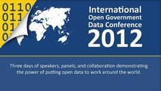 2012 International Open Government Data Conference