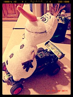 Day 20 olaf has a need for speed