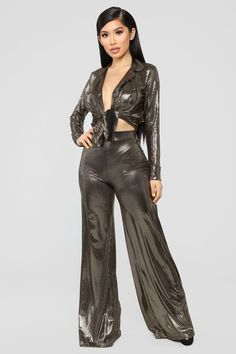 d789efd694 Leaving On A Good Note 3 Piece Set - Gold Hot Outfits