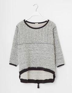 Oysho - Batwing sleeve #sweatshirt