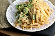 sweet potato cream pasta, no dairy-sub almond milk, healthy eating, love kale with anything!