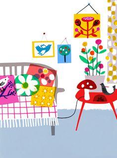 Woo Agentur - Jenny Bowers's portfolio: illustration and pattern