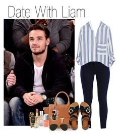"""""""Date With Liam (Requested)"""" by one-direction-outfitsxxx ❤ liked on Polyvore featuring Yves Saint Laurent, VILA, Zara, Valentino, Ted Baker, ASOS, Fendi, Chanel, Christian Dior and Ray-Ban"""