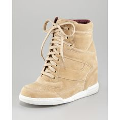 Women's MARC by Marc Jacobs International Wedge Sneaker ($320) ❤ liked on Polyvore