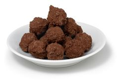 Real Champagne Chocolate Truffles #chocolate #easter