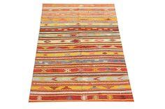 Vintage Turkish Oriental Small size kilim rug  by kilimwarehouse, $265.00