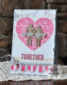 Reverse Confetti   Whole Lotta Hearts, Keywords: Go Together [Love, Valentine's Day Card]