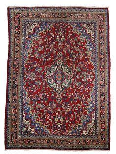 TRADITIONAL PERSIAN HAMADAN RUG 300 cm x 400 cm