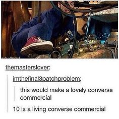 Living converse commercial. I can agree with this.