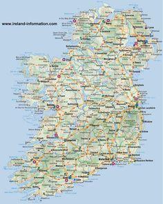 48 Best Ireland Map images