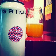 Magnetic Compass by Grimm Artisanal Ales - pineapple and peach juiciness with a…