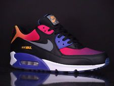 buy online 016ec 20b74 NIKE Air Max 90 SD Black Grey Violet Pink New Sunset 724763 005   Kicks   Nike  air max, Air max, Air max 90