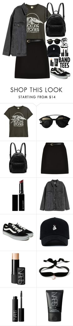 """#126"" by lenabitkina ❤ liked on Polyvore featuring MadeWorn, Christian Dior, STELLA McCARTNEY, New Look, Witchery, Vans, NARS Cosmetics, Aamaya by Priyanka, H&M and bandtees"