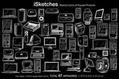 Check out iSketches by Salih Gonenli on Creative Market