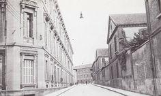 1952-CALLE  PADRE  MORET  (TRASERA  DE LA  ANTIGUA  AUDIENCIA  HOY  PARLAMENTO  DE  NAVARRA-