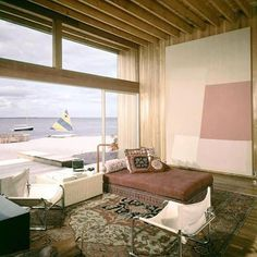 Crawford Residence by Horace Gifford, Fire Island, 1969