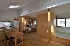 株式会社ブレッツァ・アーキテクツ の 北欧風 勉強部屋&オフィス スタディコーナーと小上がり