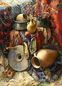 Still Life Painting - National Armenian Still-life by Meruzhan Khachatryan Art Painting Images, Acrylic Paintings, Still Life Artists, Francisco Goya, Still Life Drawing, Guache, Diy Canvas Art, Pictures To Paint, Funny Art