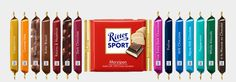 Ritter Sport Chocolates...YUM. Butter biscuit and strawberry yogurt are my favorites. NO MARZIPAN.