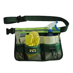OAGTECH Fasite Canvas Gardening Tools Bags Garden Waist Bag Hanging Pouch Style Reflective belt *** Continue to the product at the image link.