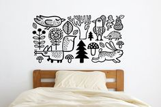 Wall decal / vinyl / wall sticker / home decor  / Forest animals