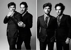 """adam scott - paul rudd -- A lot of """"uh huh"""" in this photo. Perfect People, Pretty People, Beautiful People, Beautiful Things, Adam And Paul, Celebrities Exposed, Fb Cover Photos, Paul Rudd, Book Show"""