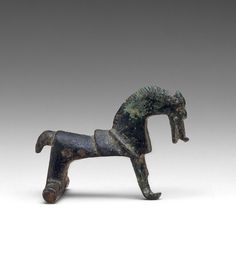Horse-Shaped Brooch, 650–550 B.C. Made in central Europe Culture:Celtic Medium:Bronze