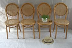 Vintage Thonet ZPM Radomsko Bentwood Cafe by SelectedAndCollected, $275.00