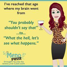 Menopause and memory!