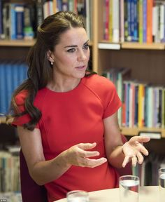 The Duchess told CEO Sarah Brennan: 'We are parents ourselves, I am sure we will face worries - we do face worries, because we've got small young children'