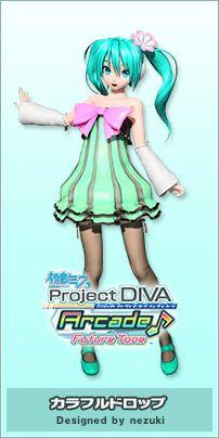 モジュール   初音ミク Project DIVA Arcade Future Tone 公式サイト