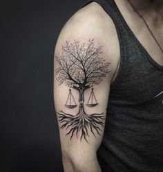 75 Extraordinary Libra Tattoo - Designs & Meaning Check more at http://tattoo-journal.com/30-extraordinary-libra-tattoos/
