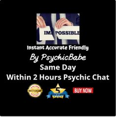Affordable Eye-Opening Same Day Psychic Instant TEXT Messaging CHAT through WhatsApp, Messenger, or Skype. Unlimited Questions 15-minute chat, giving 150 words on average.  Not a phone, video, email, or mp3 reading. This reading is truly authentic and is different each time you have a new reading.  I am a highly sought after accurate psychic who works across multiple sites.#cheappsychic #onlinepsychic #angelreadings #psychi  #Fortune tellers